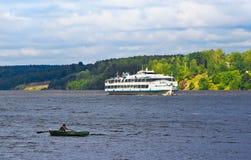 Μεγάλος ποταμός Στοκ Φωτογραφία