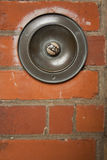 μεγάλος Τύπος κουμπιών doorbell Στοκ φωτογραφία με δικαίωμα ελεύθερης χρήσης