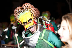 μεγάλος χορευτών κοστουμιών καρναβαλιού Στοκ εικόνες με δικαίωμα ελεύθερης χρήσης