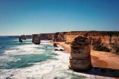 Μεγάλος ωκεάνιος δρόμος Βικτώρια Αυστραλία δώδεκα απόστολος στοκ φωτογραφία