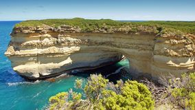 μεγάλος ωκεάνιος δρόμος της Αυστραλίας 12 αποστόλων Στοκ εικόνα με δικαίωμα ελεύθερης χρήσης