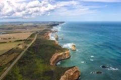 μεγάλος ωκεάνιος δρόμος της Αυστραλίας 12 αποστόλων Στοκ Εικόνες
