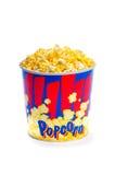 Μεγάλος popcorn κάδος Στοκ εικόνα με δικαίωμα ελεύθερης χρήσης