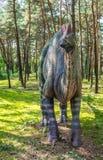 Μεγάλο άγαλμα δεινοσαύρων Στοκ Εικόνες