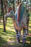 Μεγάλο άγαλμα δεινοσαύρων Στοκ Φωτογραφίες