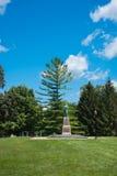 Μεγάλο άγαλμα της επιχορήγησης Ulysses Galena Στοκ Εικόνα
