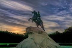 μεγάλο άγαλμα Peter Στοκ Εικόνα