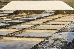 μεγάλο άλας λάβας σωρών περιοχής Στοκ Εικόνες