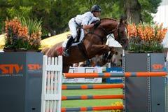 μεγάλο άλογο πηδώντας prix W csio &t Στοκ φωτογραφίες με δικαίωμα ελεύθερης χρήσης