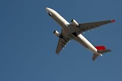 Μεγάλο αεροπλάνο επιβατών Στοκ εικόνα με δικαίωμα ελεύθερης χρήσης