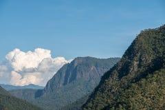 Μεγάλο βουνό με το τροπικό δάσος στοκ φωτογραφίες με δικαίωμα ελεύθερης χρήσης