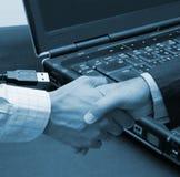 μεγάλο γραφείο συμφωνίας Στοκ εικόνες με δικαίωμα ελεύθερης χρήσης