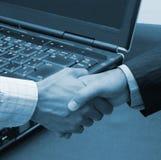 μεγάλο γραφείο συμφωνίας Στοκ φωτογραφίες με δικαίωμα ελεύθερης χρήσης