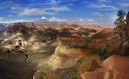 Μεγάλο εθνικό πάρκο Αριζόνα ΗΠΑ φαραγγιών Στοκ Φωτογραφία