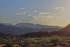 Μεγάλο εθνικό πάρκο κάμψεων - ηλιοβασίλεμα στοκ εικόνες