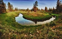 μεγάλο εθνικό ρεύμα πάρκων teton Στοκ φωτογραφία με δικαίωμα ελεύθερης χρήσης