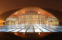 μεγάλο εθνικό s θέατρο της Κίνας Στοκ Εικόνα