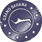 Μεγάλο εκλεκτής ποιότητας γραμματόσημο χαρτών Bahama Στοκ Φωτογραφία