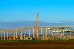 Μεγάλο εργοτάξιο οικοδομής, Maribor Στοκ Φωτογραφία