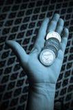 μεγάλο ευρώ νομισμάτων στοκ φωτογραφία