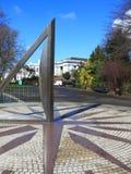 Μεγάλο ηλιακό ρολόι στο πάρκο του Γκρήνουιτς στοκ φωτογραφία με δικαίωμα ελεύθερης χρήσης