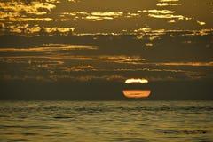 μεγάλο ηλιοβασίλεμα Στοκ φωτογραφίες με δικαίωμα ελεύθερης χρήσης