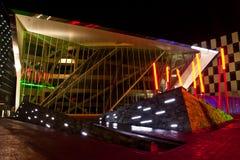 Μεγάλο θέατρο Δουβλίνο καναλιών στοκ φωτογραφία με δικαίωμα ελεύθερης χρήσης
