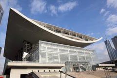 μεγάλο θέατρο της Σαγγάη&si Στοκ Φωτογραφία