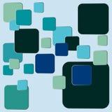 Μεγάλο και μικρό στρογγυλευμένο αφηρημένο υπόβαθρο ορθογωνίων ελεύθερη απεικόνιση δικαιώματος