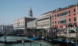 Μεγάλο κανάλι Βενετία Στοκ εικόνες με δικαίωμα ελεύθερης χρήσης