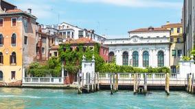 Μεγάλο κανάλι το καλοκαίρι, Βενετία, Ιταλία Στοκ Εικόνες