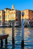 Μεγάλο κανάλι Canale Grande, Βενετία, Βένετο, Ιταλία Στοκ φωτογραφία με δικαίωμα ελεύθερης χρήσης