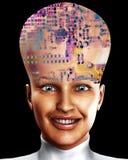 Μεγάλο κεφάλι 7 διανυσματική απεικόνιση