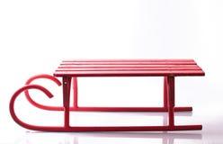μεγάλο κόκκινο έλκηθρο Στοκ εικόνα με δικαίωμα ελεύθερης χρήσης