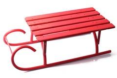 μεγάλο κόκκινο έλκηθρο Στοκ φωτογραφία με δικαίωμα ελεύθερης χρήσης