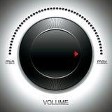 Μεγάλο μαύρο εξόγκωμα έντασης του ήχου. Στοκ φωτογραφία με δικαίωμα ελεύθερης χρήσης