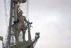 μεγάλο μνημείο Μόσχα Peter Στοκ Φωτογραφία