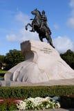 μεγάλο μνημείο Peter Ρωσία Στοκ φωτογραφίες με δικαίωμα ελεύθερης χρήσης