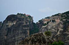Μεγάλο μοναστήρι Meteora, Ελλάδα Στοκ Εικόνες