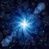 μεγάλο μπλε σκοτεινό twirl α&s Στοκ φωτογραφία με δικαίωμα ελεύθερης χρήσης