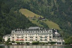 μεγάλο ξενοδοχείο Στοκ Εικόνες