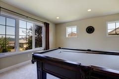 Μεγάλο οικογενειακό δωμάτιο με τον πίνακα λιμνών και τη TV. Στοκ φωτογραφία με δικαίωμα ελεύθερης χρήσης