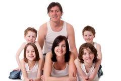 μεγάλο οικογενειακό λ& στοκ εικόνα με δικαίωμα ελεύθερης χρήσης