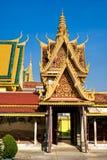 Μεγάλο παλάτι, Καμπότζη. Στοκ Εικόνες