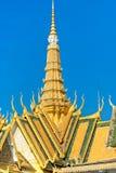 Μεγάλο παλάτι, Καμπότζη. Στοκ εικόνες με δικαίωμα ελεύθερης χρήσης