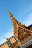 μεγάλο παλάτι της Καμπότζης Στοκ Εικόνες
