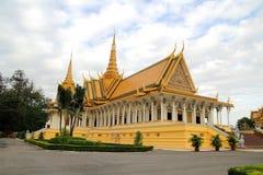 μεγάλο παλάτι της Καμπότζη& Στοκ Φωτογραφία