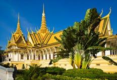 μεγάλο παλάτι της Καμπότζη Στοκ Εικόνες