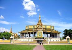 μεγάλο παλάτι penh pnom Στοκ εικόνα με δικαίωμα ελεύθερης χρήσης