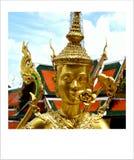 Μεγάλο παλάτι Wat Phra Kaew Μπανγκόκ Ταϊλάνδη Thepnorasingha στοκ εικόνες